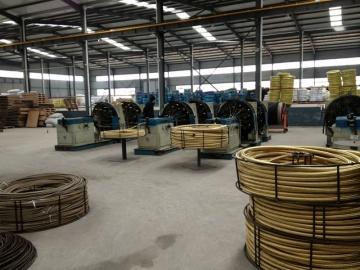 hydraulic hose braided machine