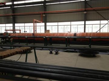 Hydraulic hose vulcanizer