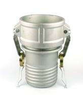 Composite hose camlock coupling